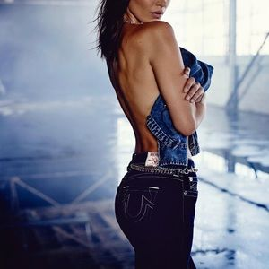 Vintage True Religion Billy Jeans 25 Bella Hadid